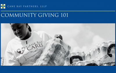 Community Giving is More Than Money